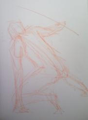 2 minute gestural pose