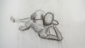 Charcoal Foreshortening