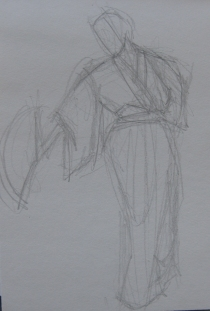 1 min sketch
