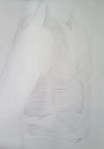 10 minute (or 20 min?) torso planar study.