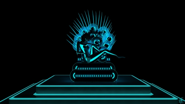 A combination of Game of Thrones and Tron in anticipation of GOT Season 3!