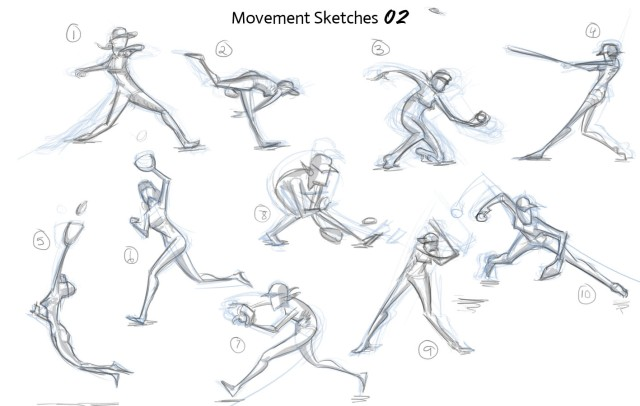 Baseball Sketches