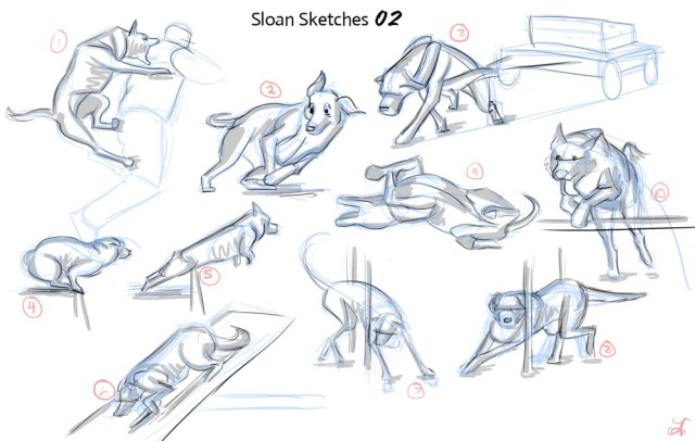 Sloan Sketches - Movement