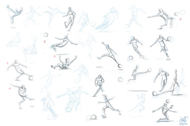 World Cup Competition Sketches